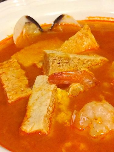 korean soft tofu stew