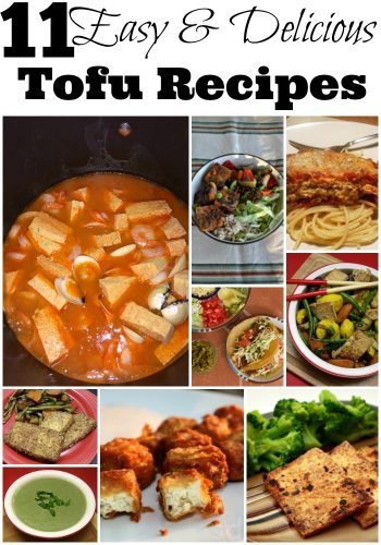 tofu recipes
