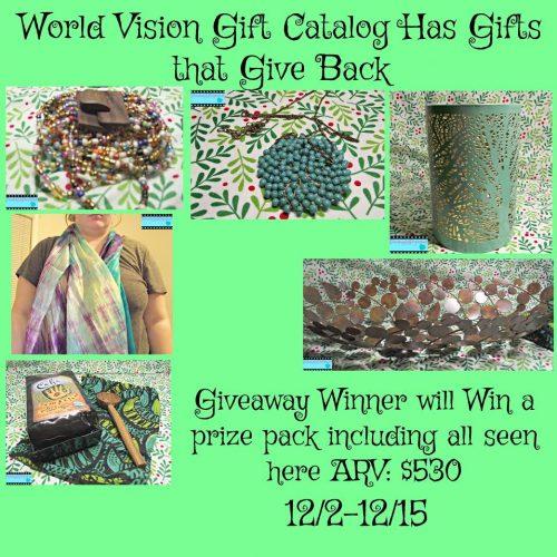 world vision giveaway