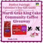 Mardi Gras King Cake Community Coffee Giveaway