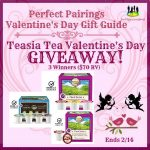 Teasia Tea Valentine's Day Giveaway