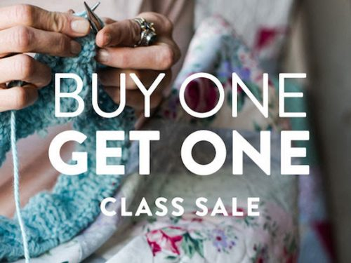 craftsy BOGO classes