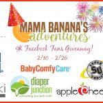 Mama Banana's Adventures Giveaway