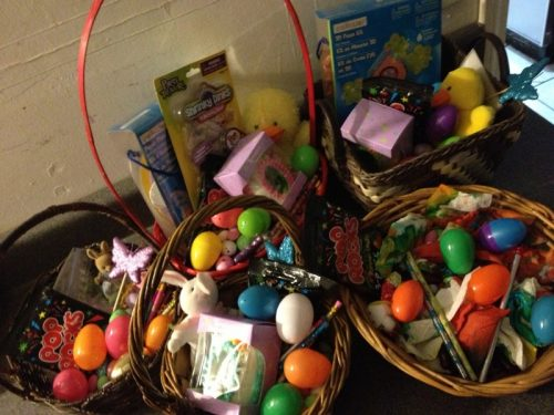 Easter basket hunt