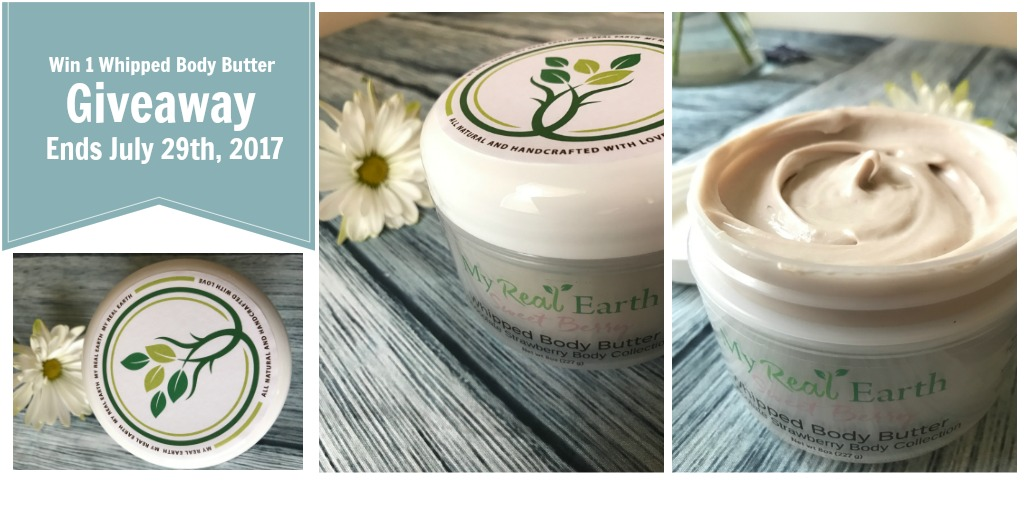 My Real Earth Body Butter Giveaway!