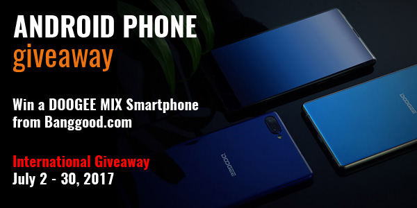 Android Smartphone Giveaway