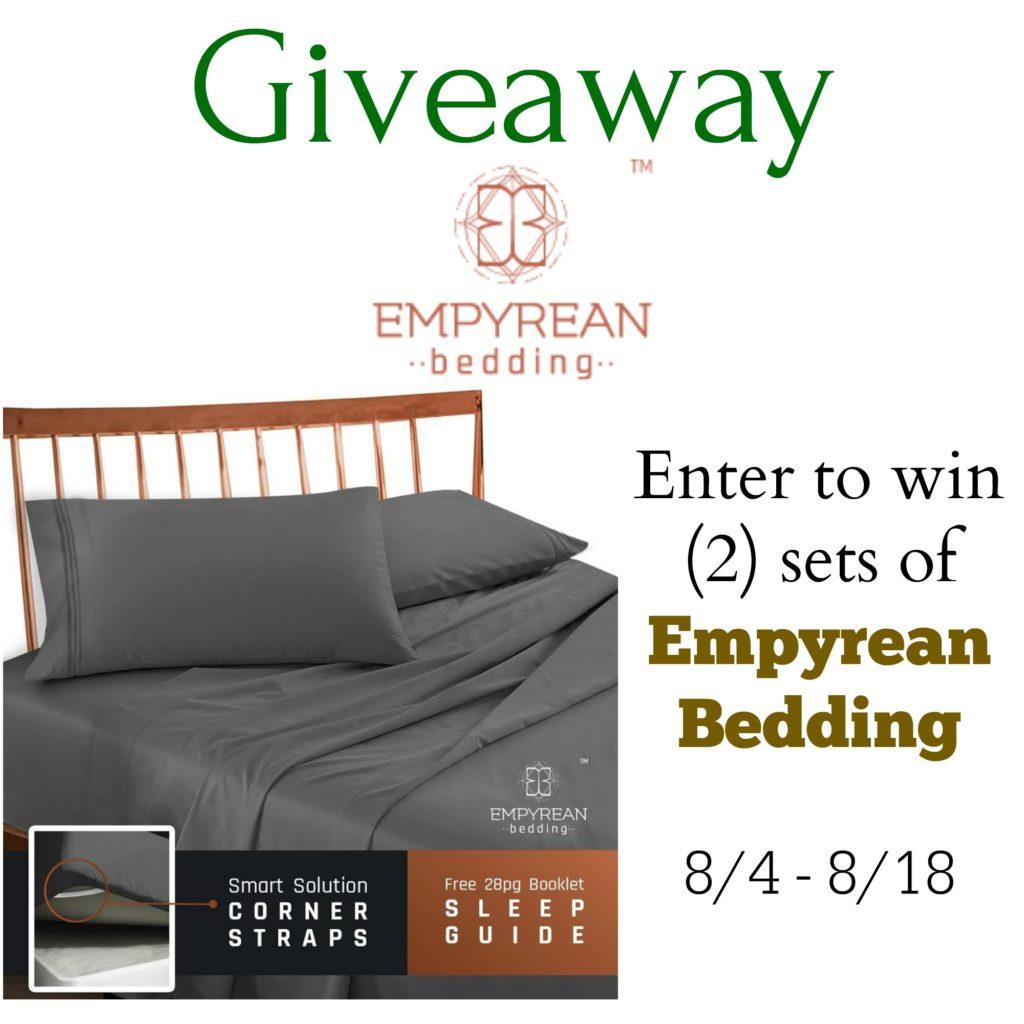 Empyrean Bedding Giveaway
