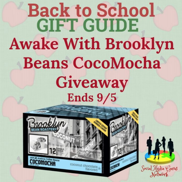 Awake With Brooklyn Beans CocoMocha Giveaway Ends 9/5