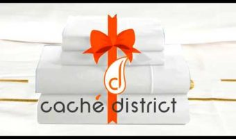 Cache' District Queen Duvet Set Giveaway!
