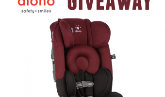 Diono Radian rXT all-in-one Convertible + Booster Car Seat Giveaway