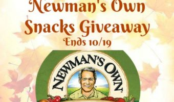 Newman's Own Snacks Giveaway