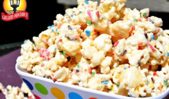 Birthday Cake Popcorn Recipe: Happy Birthday California
