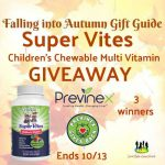 Super Vites – Children's Chewable Multi Vitamin Giveaway