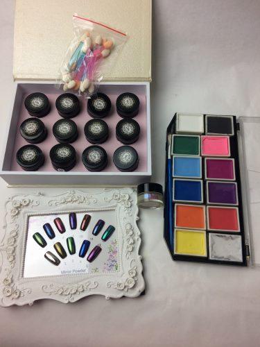 Pinky Petals makeup