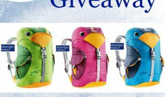 Kikki Backpack Giveaway