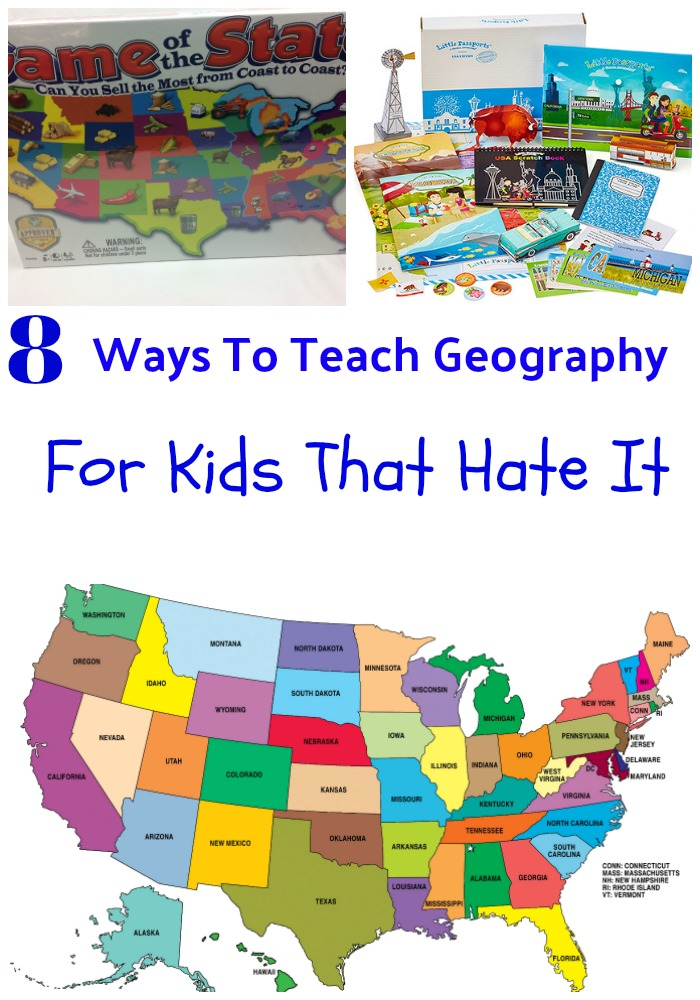 teach geography to kids