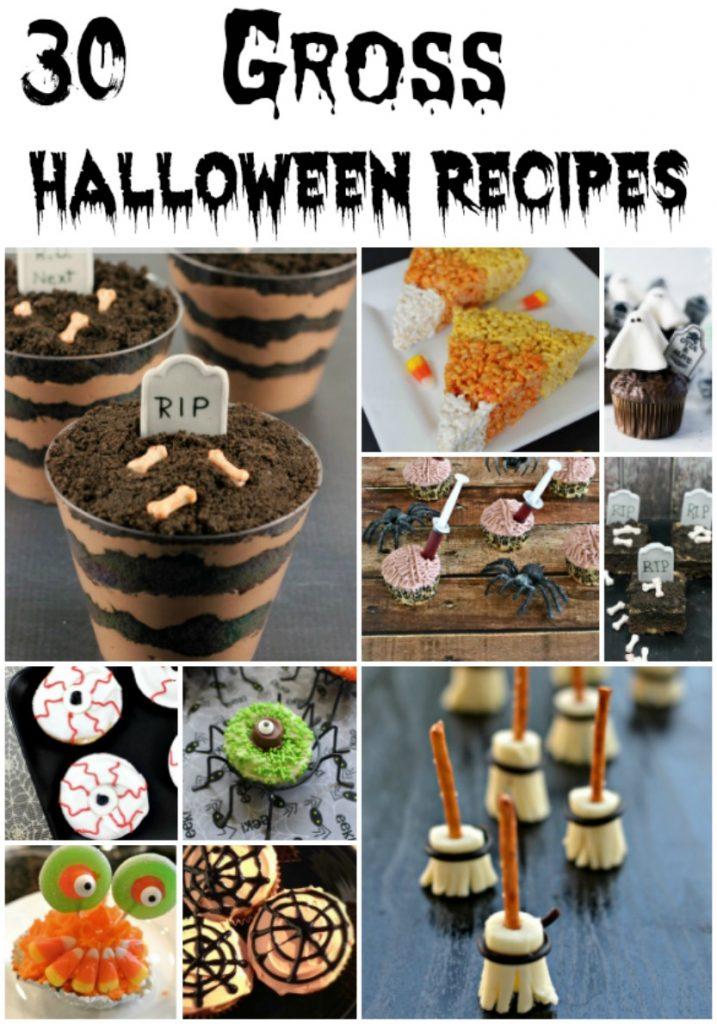 30 gross halloween recipes