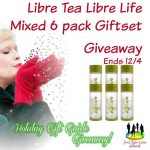 Libre Tea Libre Life Mixed 6 pack Giftset Giveaway Ends