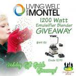 Living Well with Montel™ 1200 Watt Emulsifier Blender Giveaway
