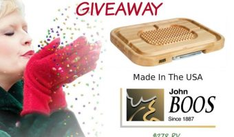 John Boos Board Co. Carving Board Giveaway