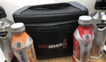 BODYARMOR SportWater; What's in your Gym Bag? Giveaway