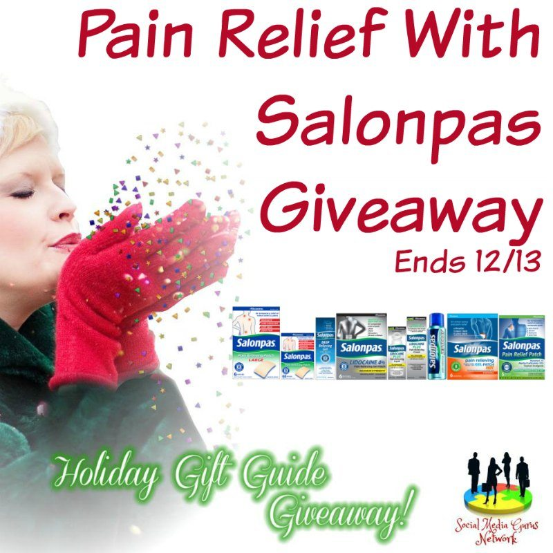 Pain Relief With Salonpas Giveaway