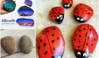 Rock Painting Tutorials & Tips For Newbies