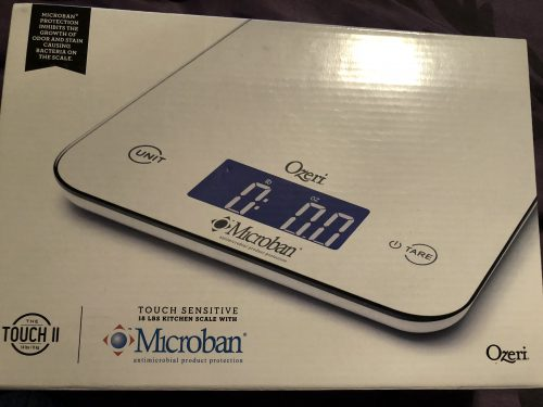 ozeri bathroom scale