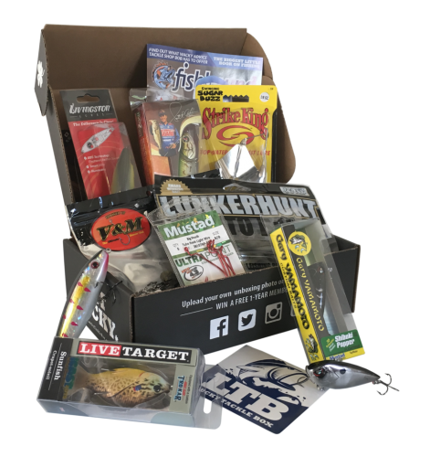Monthly subscription box gifts for everyone mom are we for Fishing box subscription