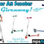 Razor A3 Scooter Giveaway