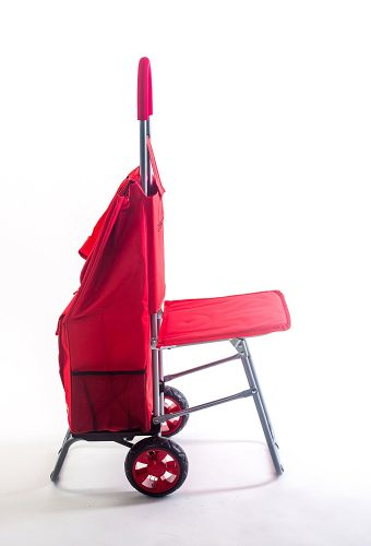 trolley dolly with seat