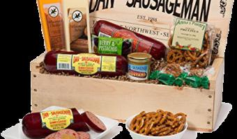 Enter to Win Dan the Sausageman's Mt. Rainier Gourmet Gift Basket